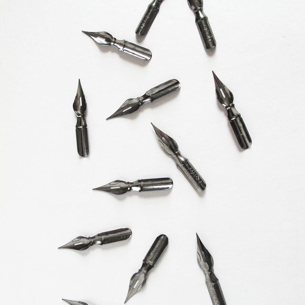 Hunt calligraphy nibs pack of sip script
