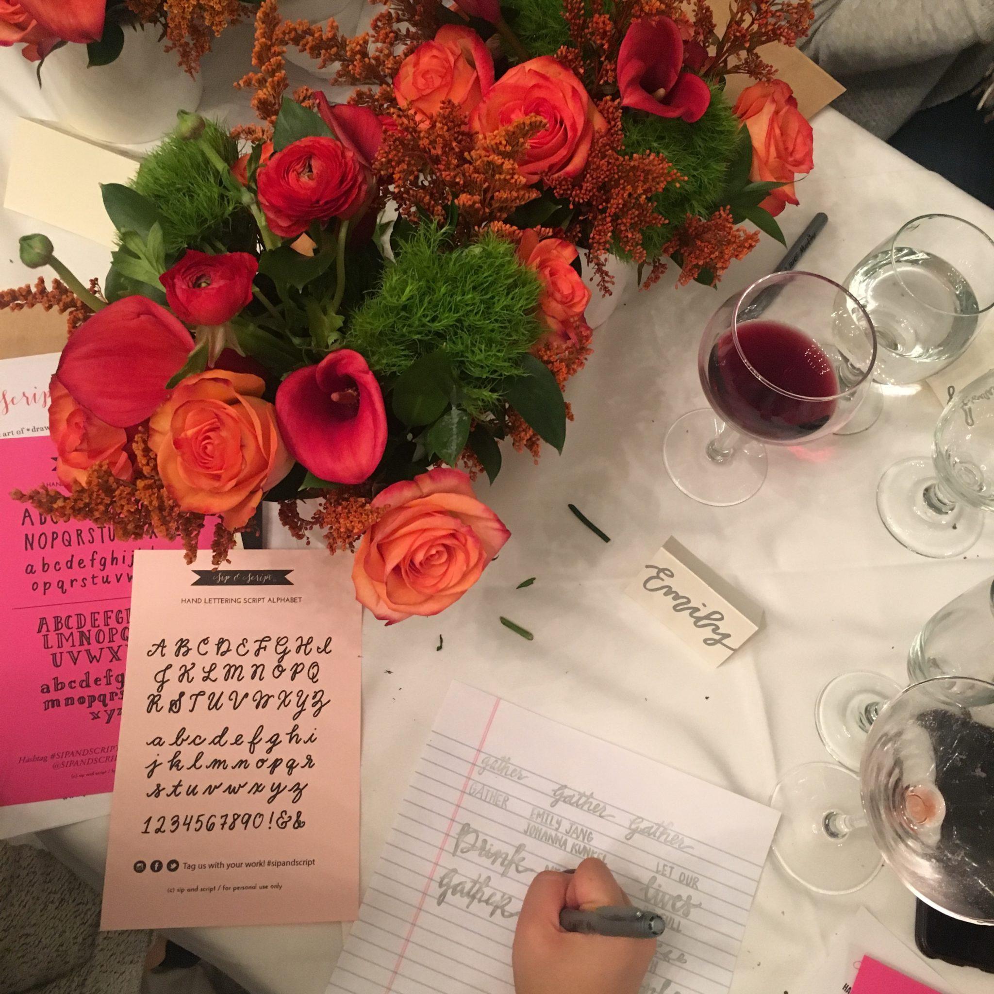 alice's table and sip & script collaboration boston